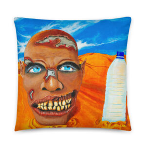Zombie got pranked Cushion (1)