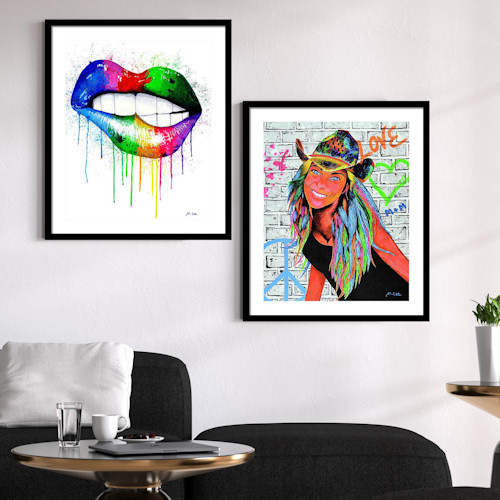 Modern wall art framed prints